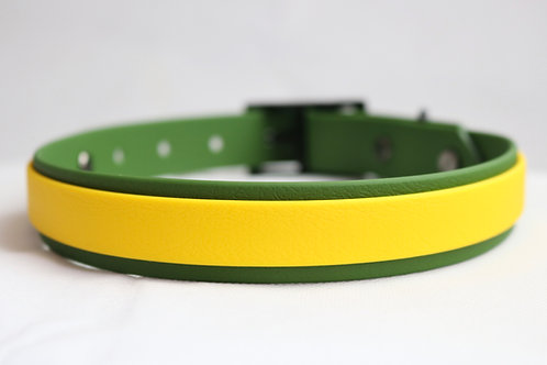 Lemon Lime Striped Collar