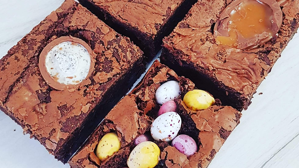 4 x Easter Brownie Box