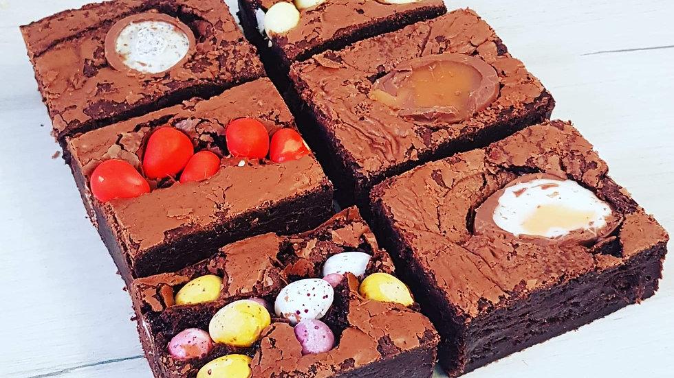 6 x Easter Brownie Box