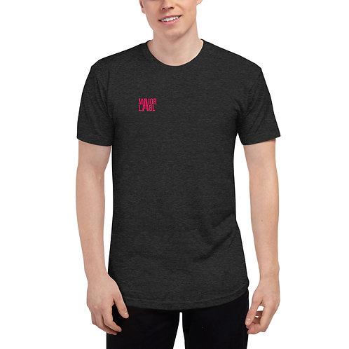 Major Labl Unisex Tri-Blend Track Shirt