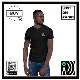 Lost On Radio Playlist QR T-Shirt