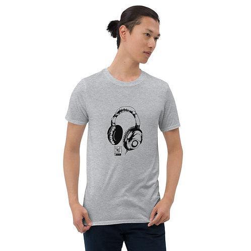 Lost On Radio Playlist QR Code Short-Sleeve Unisex T-Shirt