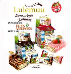 ✅Libres de gluten Lulemuu barritas LIBRES DE GLUTEN SIN TACC, APTAS CELIACOS