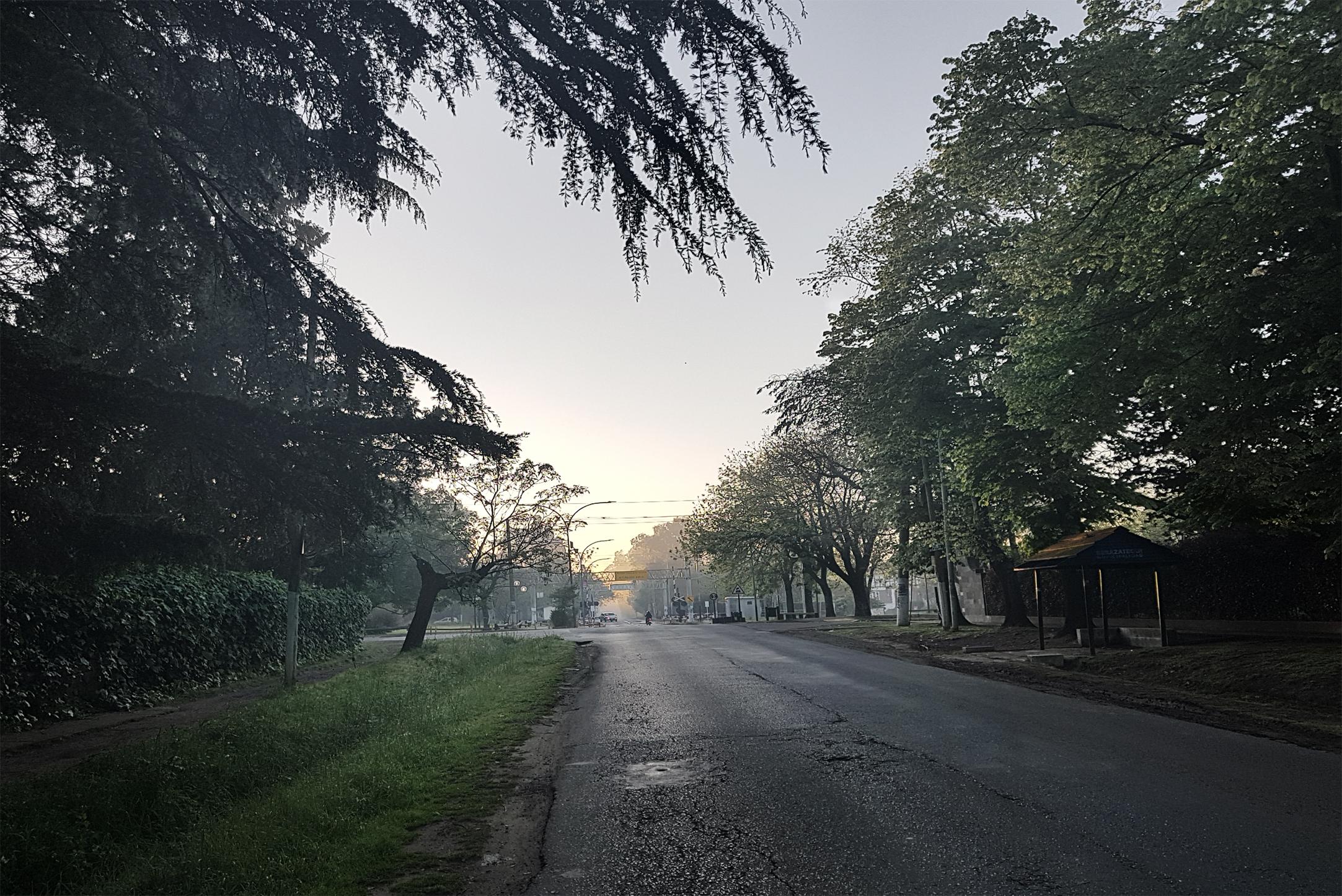 Ranelagh camino al parque Eva Hajduk
