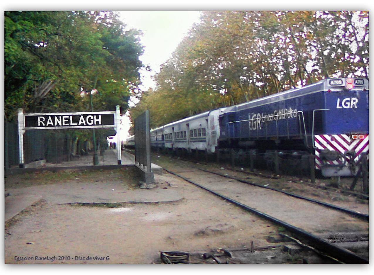 Antigua Estación de Ranelagh