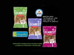 ✅ Diabetst galletitas sin azúcar agregada