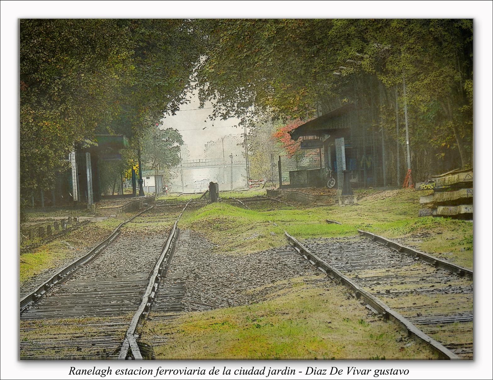 Ranelagh Estacion ferroviaria de la ciudad Jardin  - Diaz De Vivar Gustavo