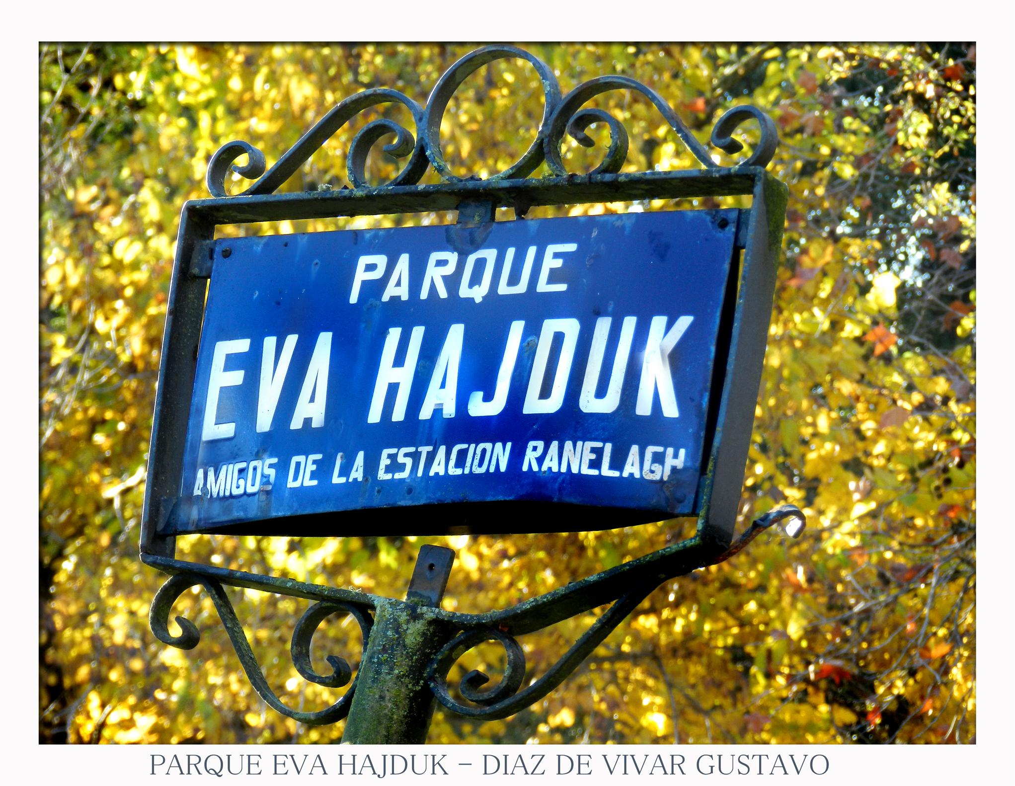 Parque Eva hadjuk  - Diaz de vivar gustavo