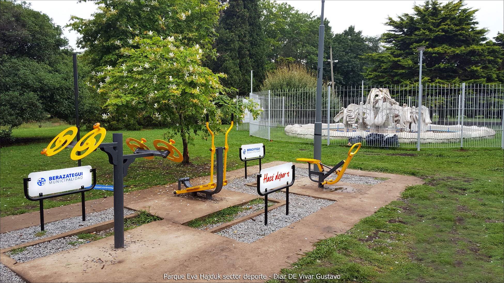 Parque Eva Hajduk sector deporte - Diaz De Vivar Gustavo