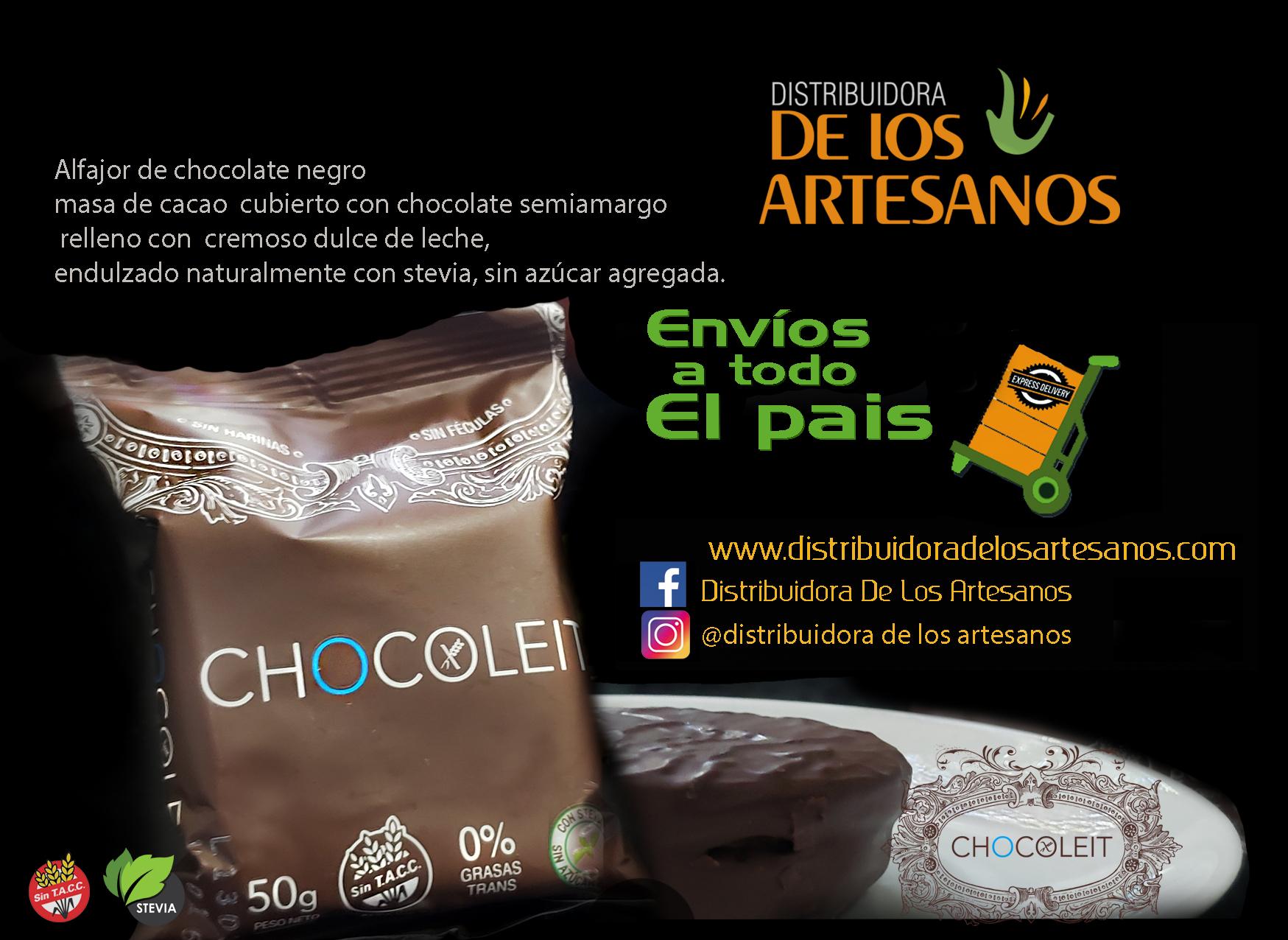 ✅Libres de gluten CHOCOLEIT ALFAJORES APTOS PARA CELIACOS LIBRES DE GLUTEN Y SIN AZUCAR