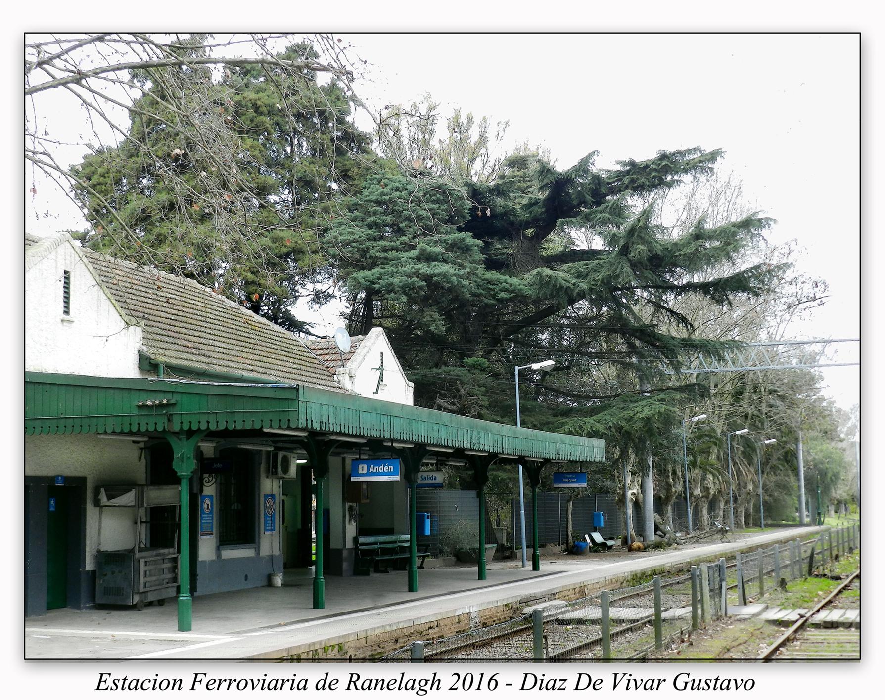 Estacion ferroviaria Ranelagh medio - Diaz De Vivar Gustavo