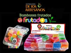✅Libres de gluten FRUTADOS - BOMBONES DE FRUTA APTOS CELIACOS, SIN TACC Y VEGANOS