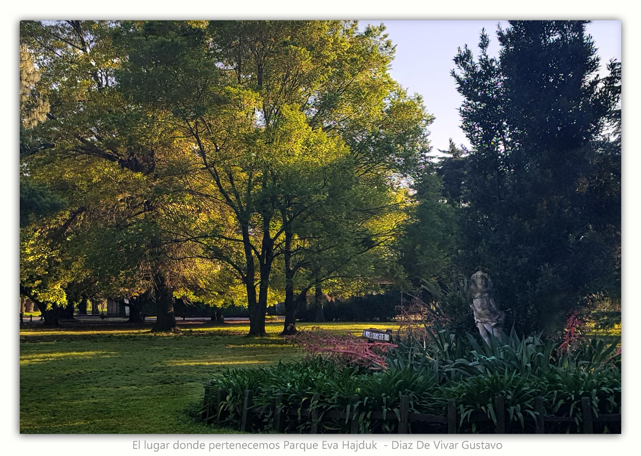El lugar donde pertenecemos Parque Eva H