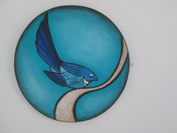 Turquoise Fantail