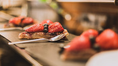 Tartes aux fruits frais de saison de la