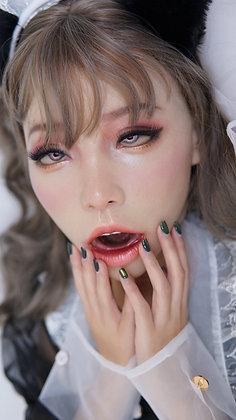 Poppy Goddess Special Makeup