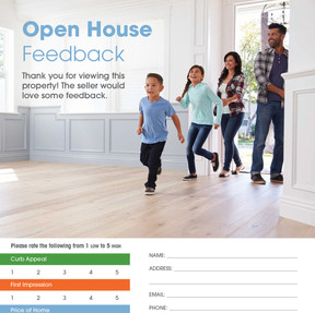 Open House Feedback