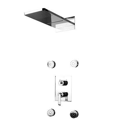Cascade ducha monocontrol con funciones