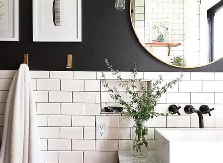 ¿Cómo decorar baños pequeños?