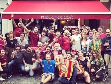 """Il Romanista - Viaggio nel Roma Club Bruxelles: """"Ecco come si vive la Roma in Belgio"""""""