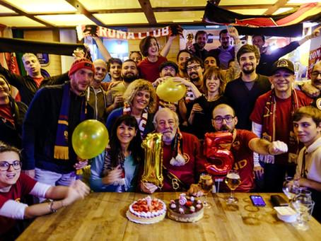 Festa grande per i 15 anni del Club
