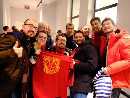 Europa League, il RC Bruxelles dà il benvenuto alla Roma in Belgio