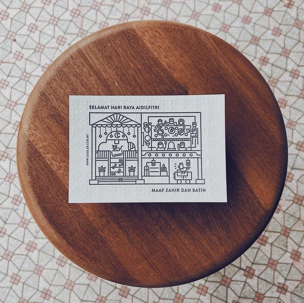 raya postcard 2020