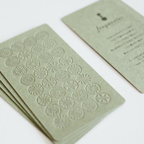inspiration from fragmentas card