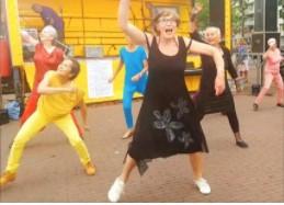 Streetdance door vitale ouderen