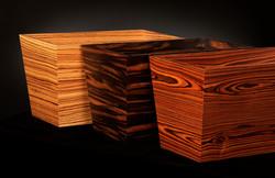 Veneer File Boxes