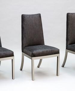 Satin Nickel Chair