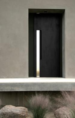Ebonzied Mesquite Door
