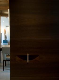 Ebonzied Rift Oak Door