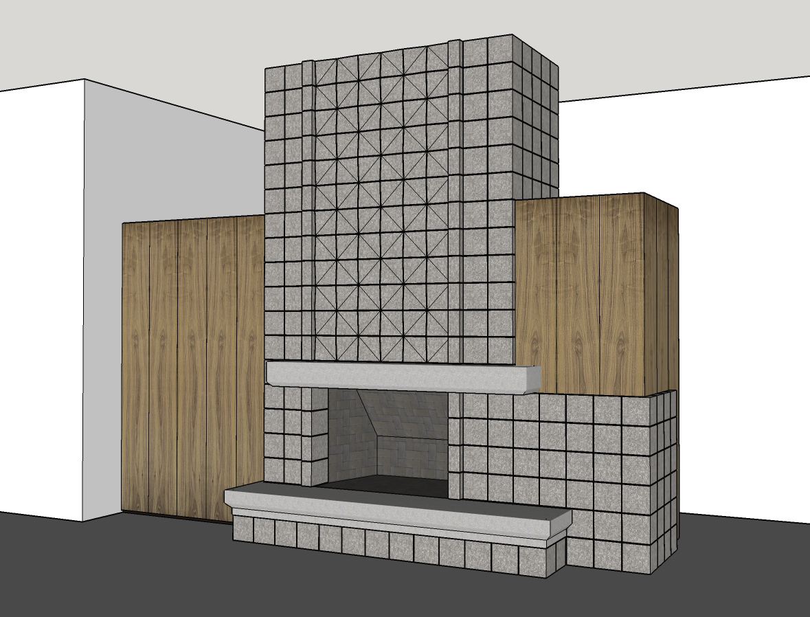 SketchUp Fireplace