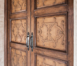 Carved Panel Detail