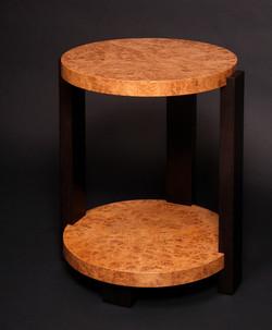 Oak Burl Table