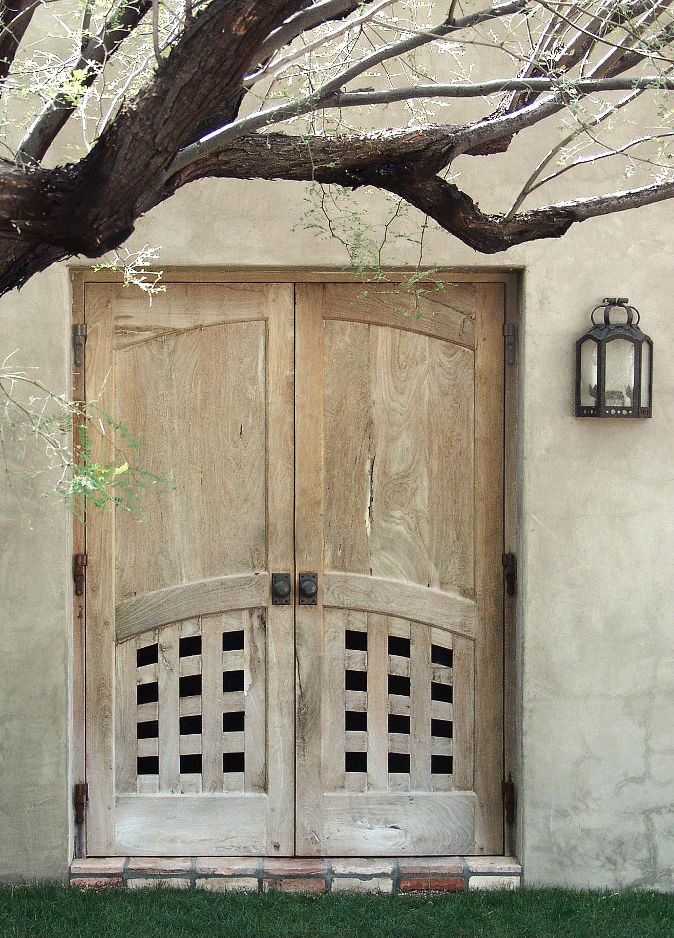 Mesquite doors