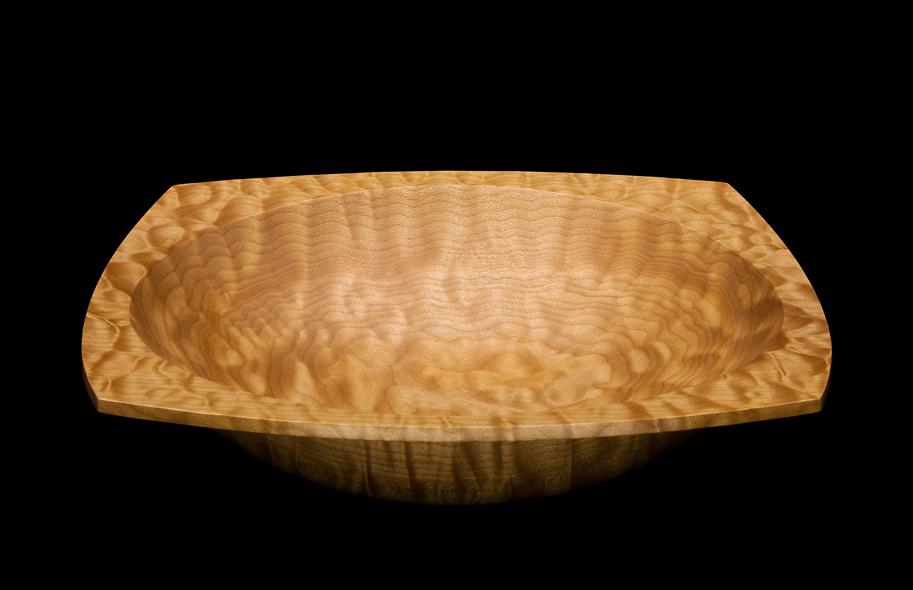 Quilted Maple Bowl