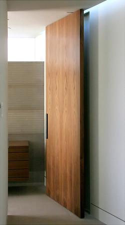 Walnut Pivot Door