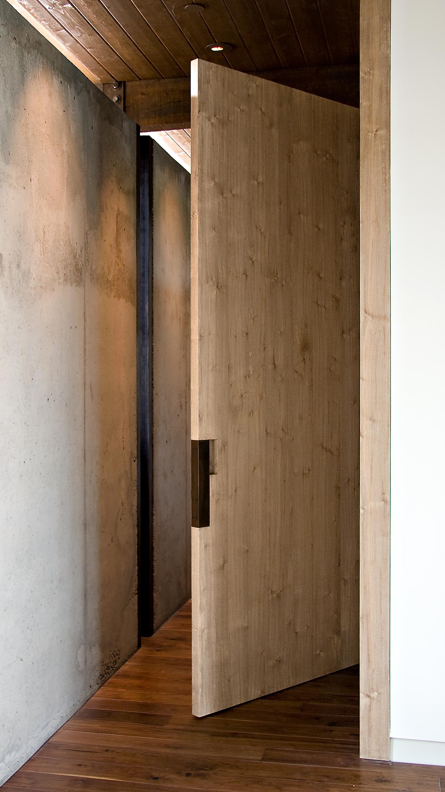 Bleached Walnut Door