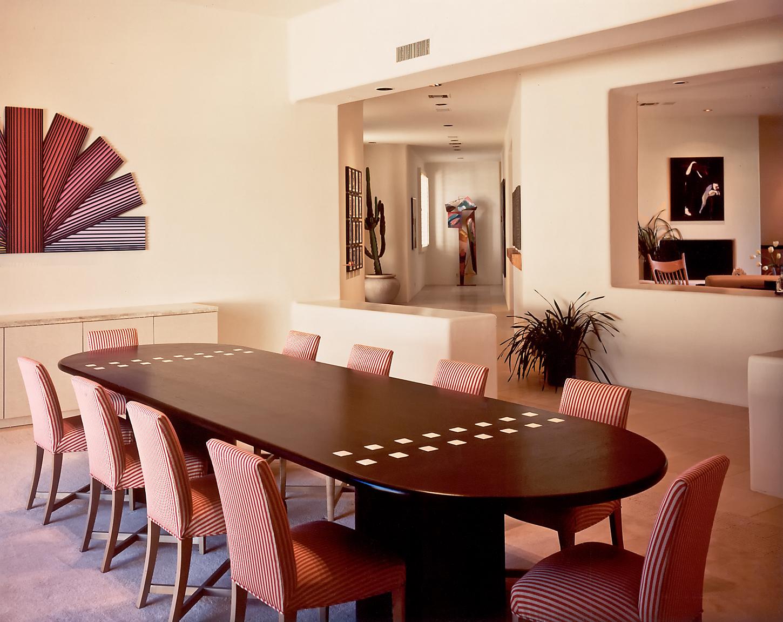 Ebonized Mahogany Table