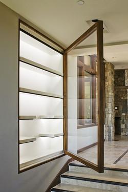 Display Cabinet Open