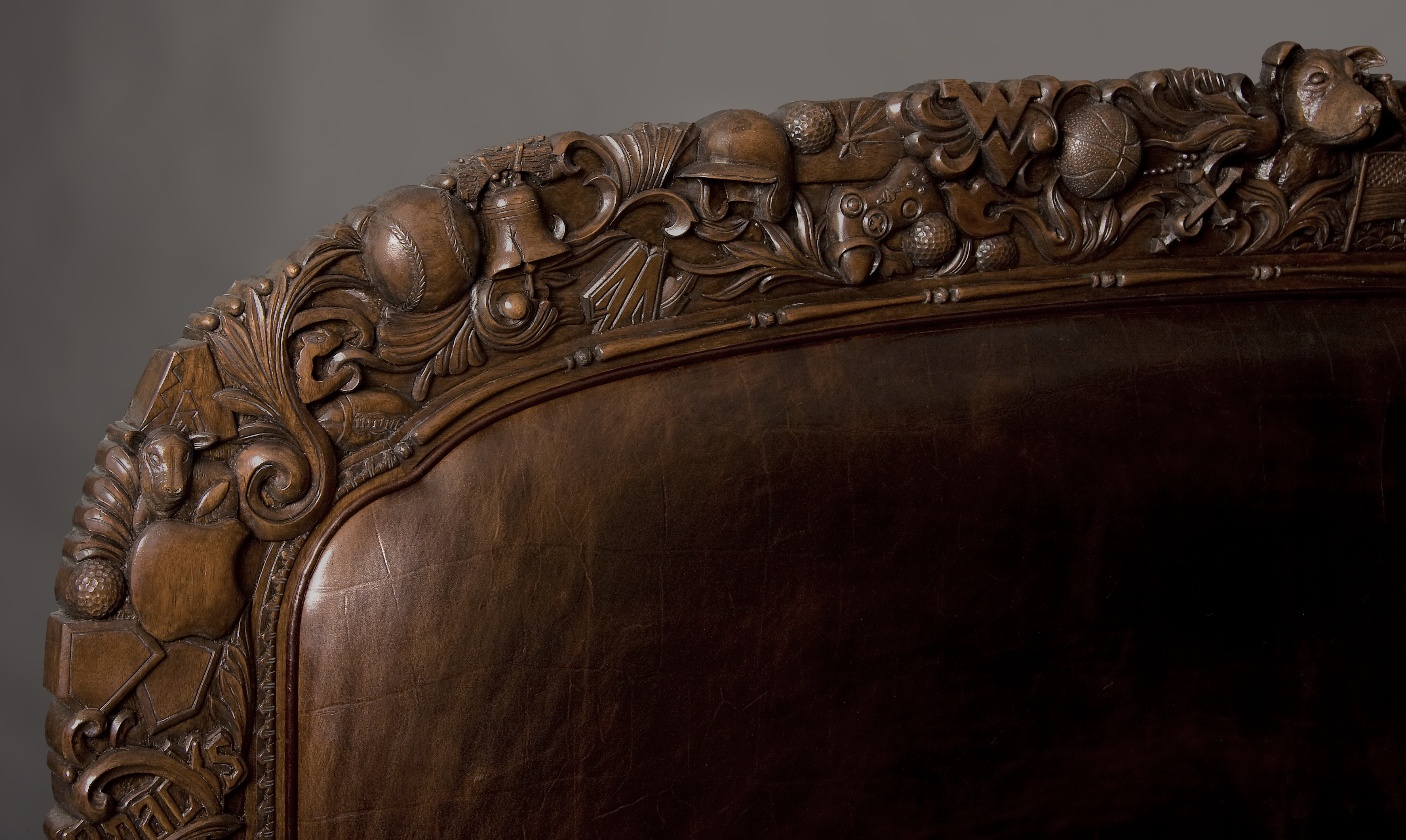 Custom Headboard with carvings