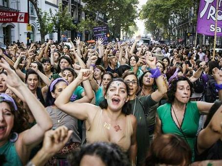 Mujeres organizadas a favor de la paz, la salida en Jalisco