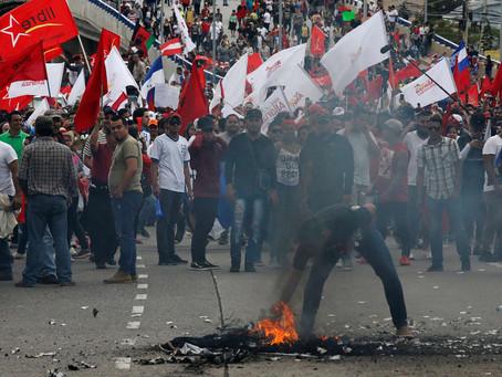 La crisis política en Honduras