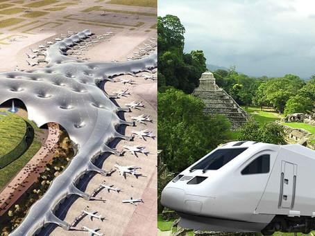 El NAICM, el tren maya y el desarrollo regional