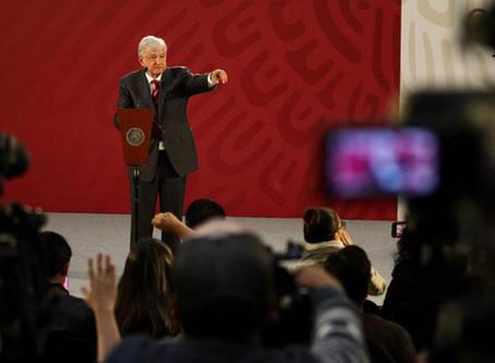 Periodismo de paz en tiempos de López Obrador