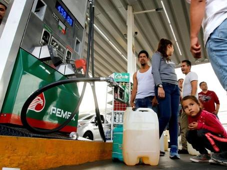 El aprendizaje en el desabasto de la gasolina