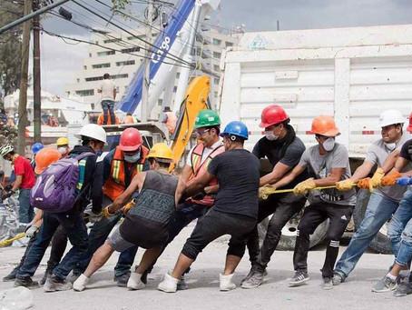 ¿Cómo se gasta el dinero de la reconstrucción de México?