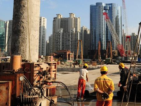La implacable construcción de infraestructura en China
